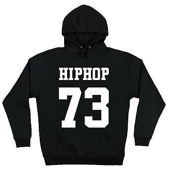 HIPHOP73 Pullover Hoodie zwart