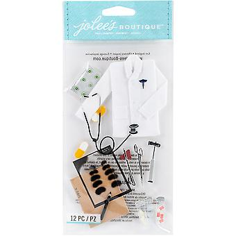Jolee's Boutique Dimensional Stickers-Doctor