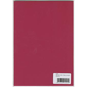 Hunkydory Adorable Scorable A4 Cardstock-Cherry Pie