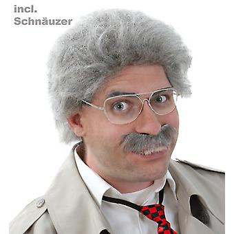 Wig Horst with mustache comedy gentlemen