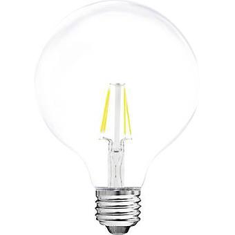 Müller Licht LED E27 globo 4 W = 37 W Warm white (Ø x L) 95 x 140 mm EEC: base-congelador a ++ filamento 1 PC