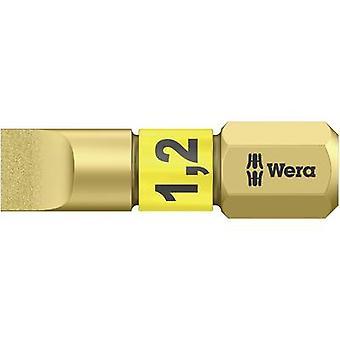 Slot drive bit 6.5 mm Wera 800/1 BDC Tool steel al