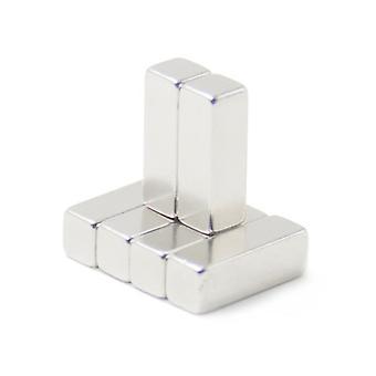 Imán de neodimio 30 x 10 x 10 mm bloque N35 - 100 piezas