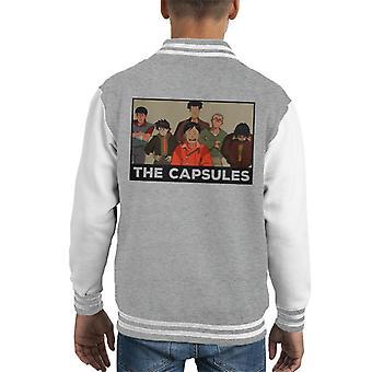 Akira The Capsules Kid's Varsity Jacket