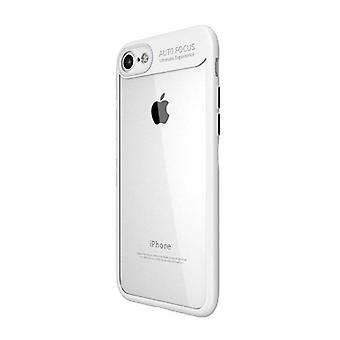 Stuff Certified ® iPhone Plus 8 - Auto Focus Armor Case Cover Cas TPU Silicone Case White