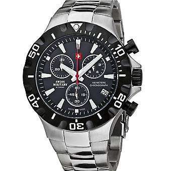 Swiss military by Chrono mens watch 20087BI-1M