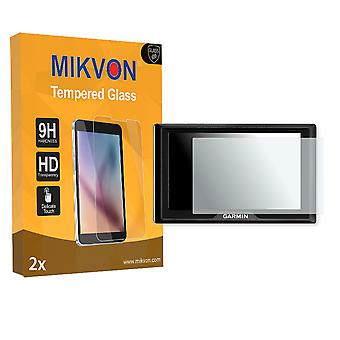 Garmin Drive 51LMT-S Screen Protector - Mikvon flexible Tempered Glass 9H (Retail Package with accessories)