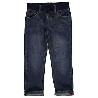 Crafted Kids Rib Jean Straight Jeans Pants Trousers Bottoms