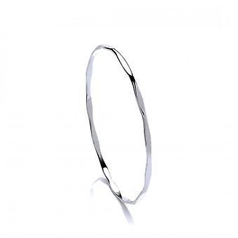 Cavendish Franse fijne zilveren Diamond Style Bangle