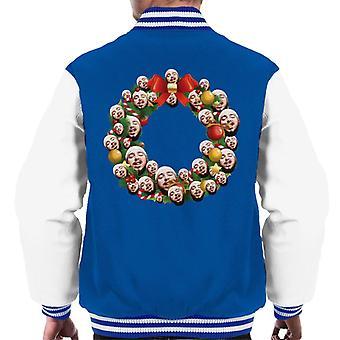 Varsity Jacket Natale corona Multi Post moro maschile