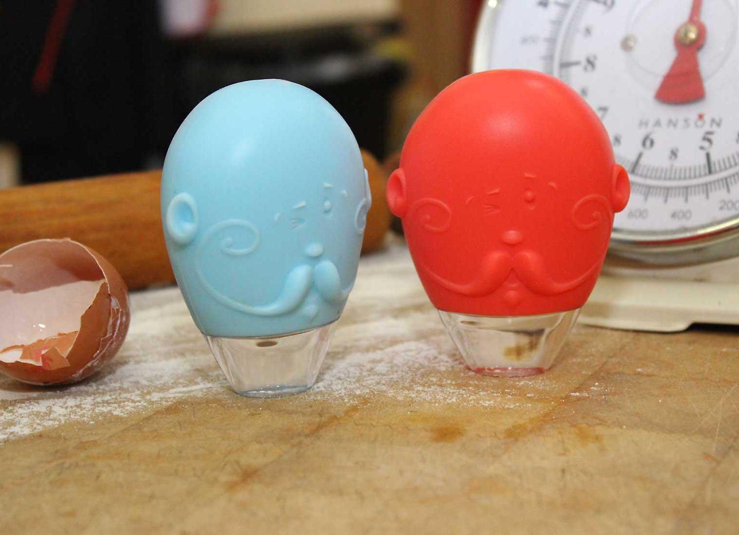 Blå Eggman ägg avgränsare