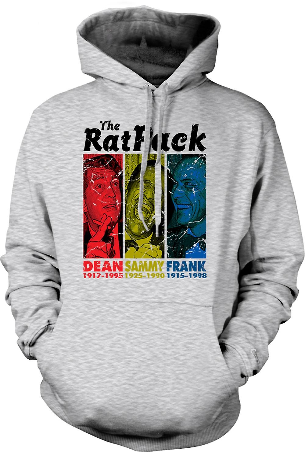 Para hombre con capucha - Rat Pack - Dean Martin - Sammy - Frank Sinatra