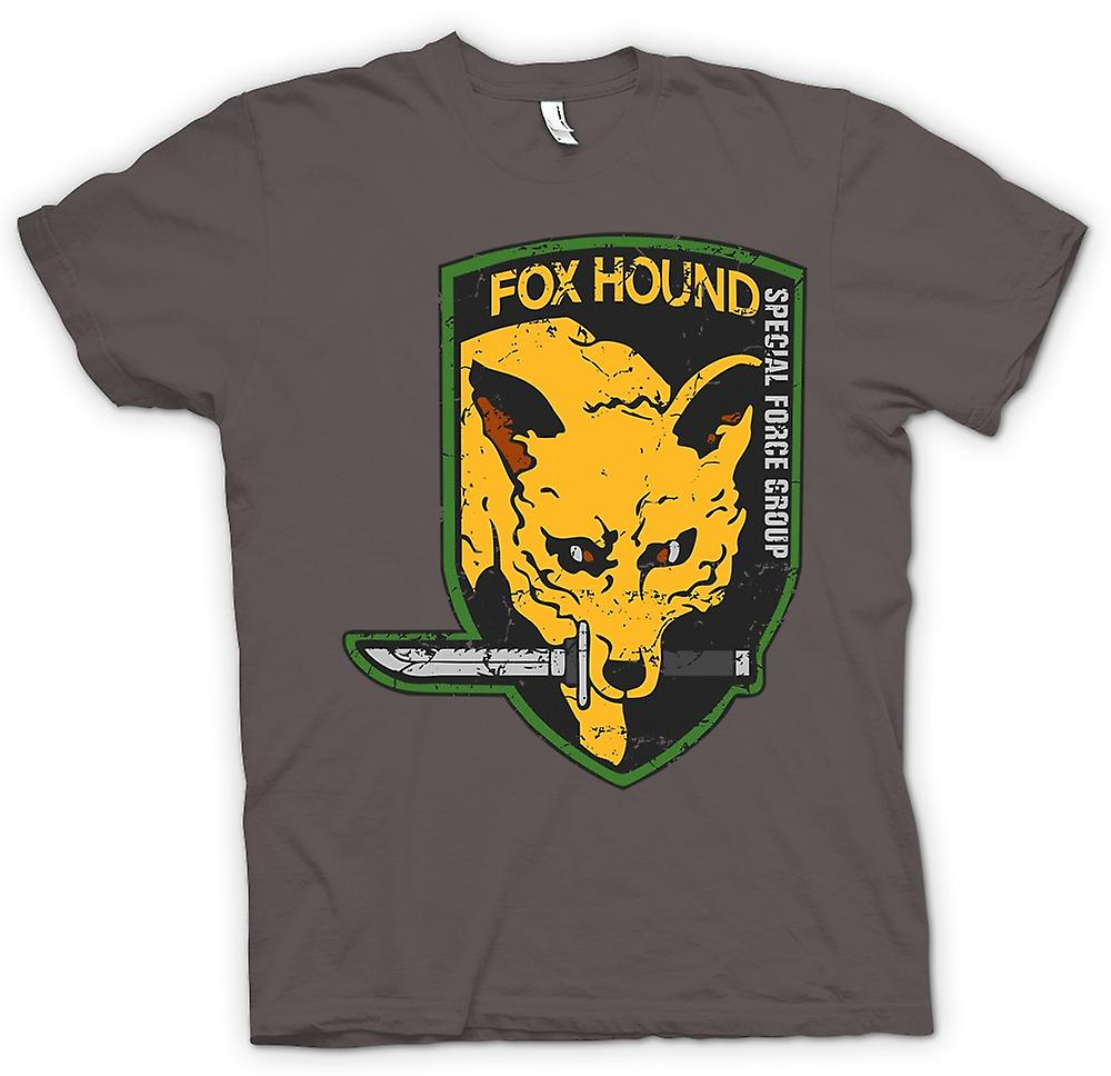 Womens T-shirt - Fox Hound - Special Forces Group - Spieler