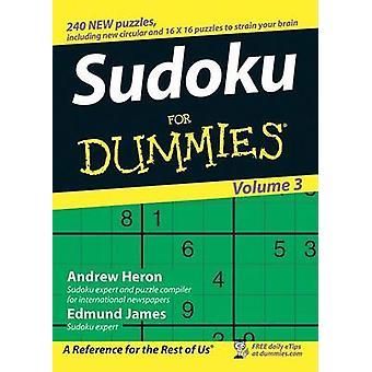 Su Doku For Dummies - v. 3 af Andrew Heron - Edmund James - 9780470026