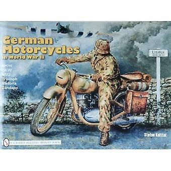 Motos alemãs na segunda guerra mundial: BMW, D.K.W., N.S.U, triunfo, Viktoria, Zundapp
