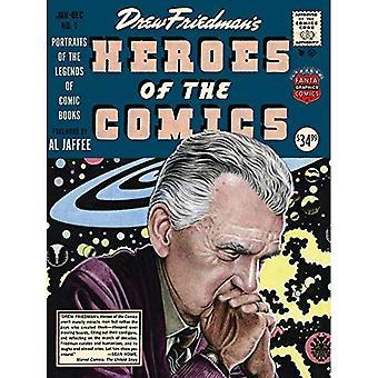 Héros de la bande dessinée: Portraits des légendes pionniers de bandes dessinées (héros de bandes dessinées)