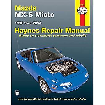 Mazda MX-5 Miata Automotive Repair Manual: 1990-2014 (Haynes Repair Manual)