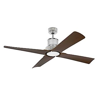 Energy-saving ceiling fan Faro Winche Chrome with LED