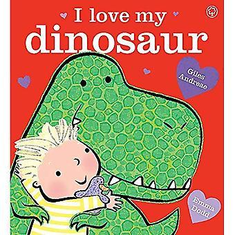 Ik hou van mijn dinosaurus