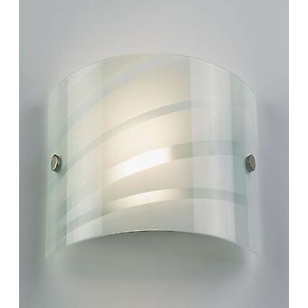 Luz da parede interior de salsa - Endon 96220-WBWH