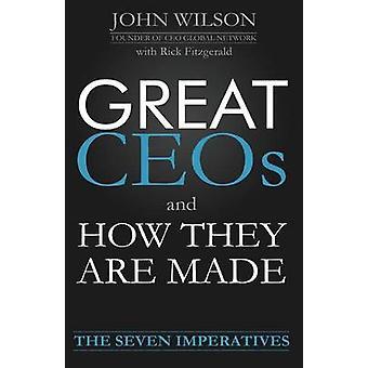 Great Ceos und wie werden sie von Wilson & John
