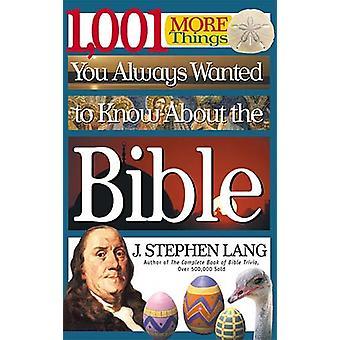 1 - 001 mehr Dinge, die Sie schon immer über die Bibel von J. S wissen wollten
