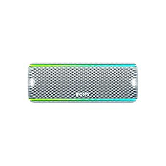 Sony SRS-XB31 Portable Wireless Waterproof Speaker with Extra Bass - White