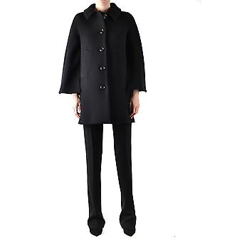 Boutique Moschino Black Wool Coat