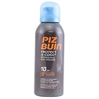 Piz Buin Protect & Cool Sun Mousse Spf10 150 ml (Cosmetics , Body  , Sun protection)