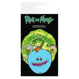 Rick och Morty Mr Meesöker gummi nyckel ring