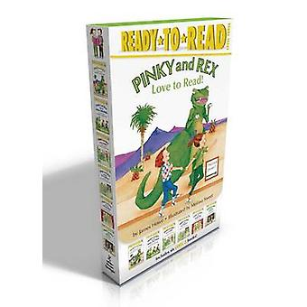 Pinky and Rex Love to Read! - Pinky and Rex; Pinky and Rex and the Mea
