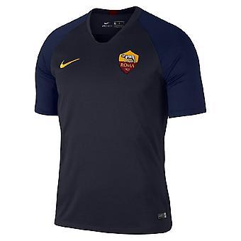 2019-2020 AS Roma Nike camiseta de entrenamiento (obsidiana)-niños
