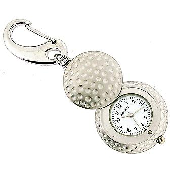GTP Unisex Novelty Golf Ball With Cover Clock Keyring An Ideal Gift  IMP719