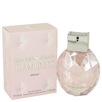 Emporio Armani Diamonds Rose by Giorgio Armani Eau De Toilette Spray 1.7 oz / 50 ml (Women)