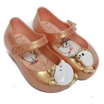 Melissa Shoes Mini Ultragirl Beauty 18 Tea Party Shoes, Blush