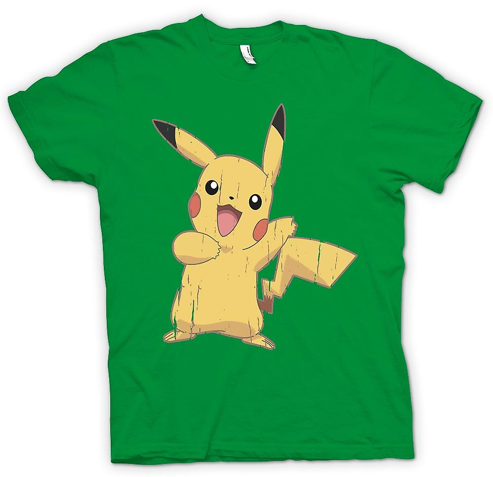 Mens T-shirt - Pikachu - Cool Pokemon inspiré