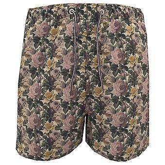 Claudio Lugli Floral Print Mens Swimming Shorts
