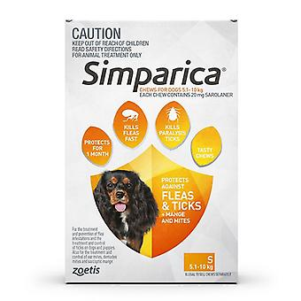Simparica for Dogs 11.1-22 lbs (5-10 kg) - 3 Pack
