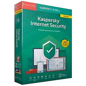 Kaspersky internet security 2019 license for 3 device for 1 year version-renewal (english)