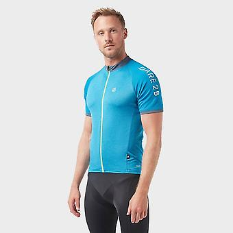 New Dare 2B Men's Accurate Cycling Jersey Blue