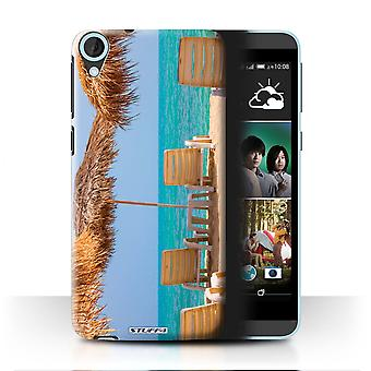 STUFF4 Tilfelle/Cover for HTC Desire 820q dobbelt/Tiki/Beach/Thailand natur