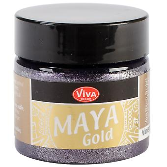 Viva Decor Maya Gold 50Ml Violet Maya 50034