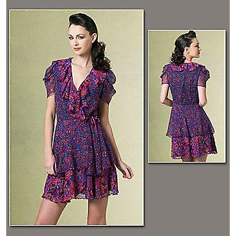 Misses' Dress  Ee 14  16  18  20 Pattern V1178  Ee0