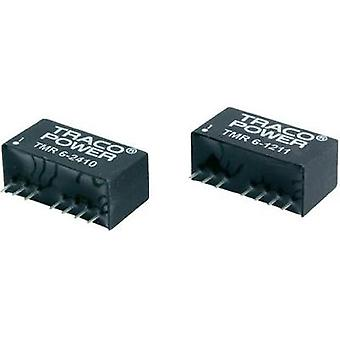 DC/DC converter (print) TracoPower 5 Vdc 24 Vdc 250 mA 6 W No. of outputs: 1 x