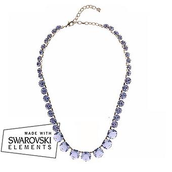 Martine Wester Lavender Collar Necklace