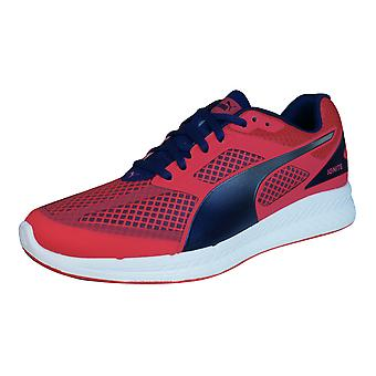 Puma Ignite Mesh Womens Running Trainers / Shoes - Red