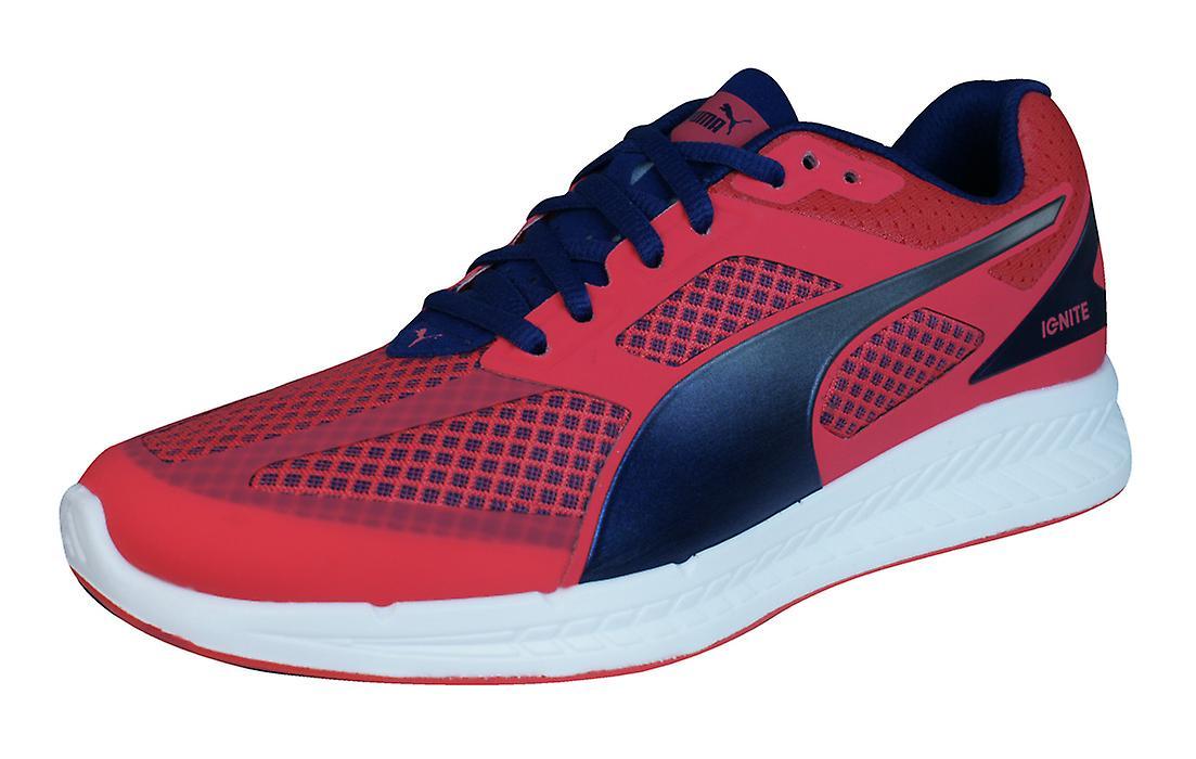 Puma Ignite Mesh Womens Running scarpe da ginnastica / scarpe - rosso