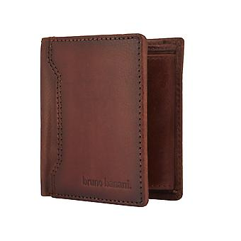 Bruno banani para hombre cartera monedero Brown 2416