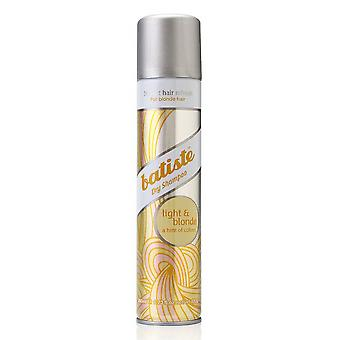 Batiste Dry Shampoo Plus Brilliant Blonde 200ml For light shades of hair