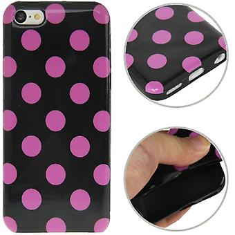 Funda protectora para móvil iPhone 5 c.